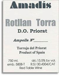 2005 Rotllan Torra Priorat Amadis