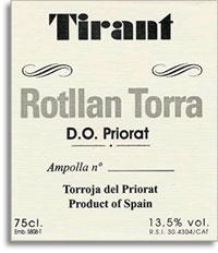 2006 Rotllan Torra Priorat Tirant