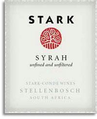 2009 Stark Conde Wines Stark Syrah Stellenbosch