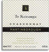 2010 Te Kairanga Wines Chardonnay Martinborough