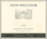 2001 Concha Y Toro Cabernet Sauvignon Don Melchor Puente Alto