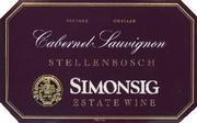 2006 Simonsig Family Vineyards Cabernet Sauvignon Stellenbosch