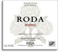 2010 Bodegas Roda Reserva Rioja