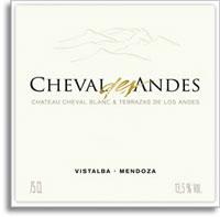 2006 Terrazas De Los Andes Cheval Des Andes Vistalba Mendoza