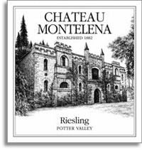 2010 Chateau Montelena Riesling Potter Valley