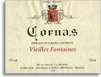 2010 Domaine Alain Voge Cornas Les Vieilles Fontaines