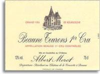 2002 Domaine Albert Morot Beaune Teurons