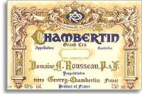 2001 Domaine Armand Rousseau Chambertin