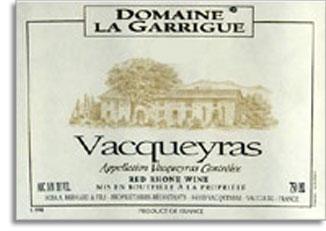 2006 Domaine La Garrigue Vacqueyras