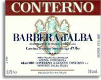 2009 Giacomo Conterno Barbera d'Alba Cascina Francia