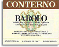 2009 Giacomo Conterno Barolo Cascina Francia