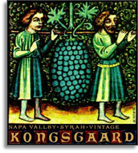 2008 Kongsgaard Wines Syrah Hudson Vineyards Napa Valley