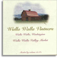 2013 Walla Walla Vintners Merlot Walla Walla Valley