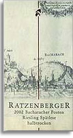 2002 Ratzenberger Bacharacher Posten Riesling Spatlese Halbtrocken