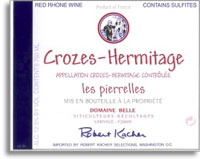 2010 Albert Belle Crozes-Hermitage Cuvee Les Pierrelles