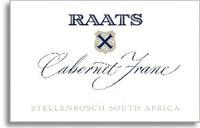 2011 Raats Family Wines Cabernet Franc Stellenbosch