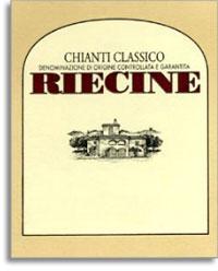 2010 Riecine Chianti Classico