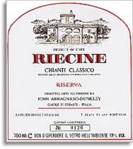 2007 Riecine Chianti Classico Riserva