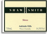 2010 Shaw & Smith Shiraz Adelaide Hills