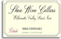 2011 Shea Wine Cellars Pinot Noir Shea Vineyard Estate Willamette Valley