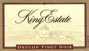 2011 King Estate Winery Pinot Noir Oregon