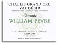2010 Domaine William Fevre Chablis Vaudesir