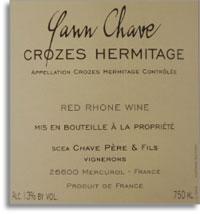 2010 Domaine Yann Chave Crozes-Hermitage