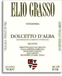 2009 Elio Grasso Dolcetto Dalba