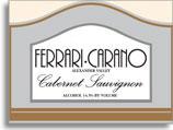 2012 Ferrari-Carano Winery Cabernet Sauvignon Alexander Valley