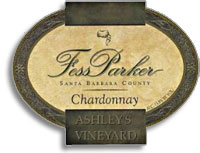 2013 Fess Parker Winery Chardonnay Ashley's Vineyard Sta. Rita Hills