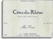 2010 J.L. Chave Selection Cotes du Rhone Mon Coeur