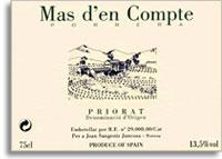 2009 Mas d'en Compte Priorato Blanco