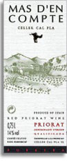 2009 Mas d'en Compte Priorato Tinto
