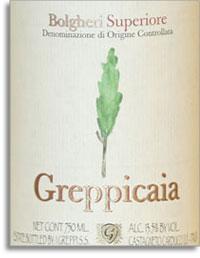 2004 Azienda I Greppi Greppicaia Bolgheri Superiore