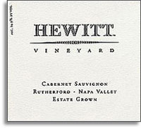 2007 Hewitt Cabernet Sauvignon Rutherford Napa Valley