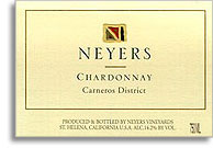 2010 Neyers Vineyards Chardonnay Carneros District