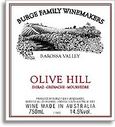 Vv Burge Family Winemakers Shiraz Grenache Doh Barossa Valley