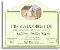 2011 Caves Jean Et Sebastien Dauvissat Chablis Vaillons Vieilles Vignes