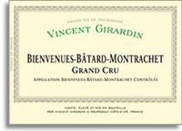 2007 Domaine/Maison Vincent Girardin Bienvenue-Batard-Montrachet
