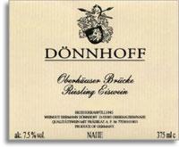 2001 Donnhoff Oberhauser Brucke Riesling Eiswein