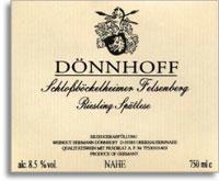 2009 Donnhoff Schlossbockelheimer Felsenberg Riesling Spatlese