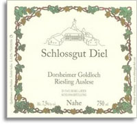 2000 Schlossgut Diel Dorsheimer Goldloch Riesling Auslese Gold Capsule