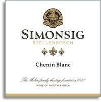2013 Simonsig Family Vineyards Chenin Blanc Stellenbosch