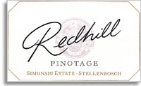 2011 Simonsig Family Vineyards Red Hill Pinotage Stellenbosch