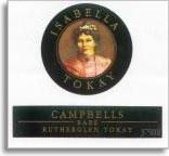 NV Campbells Winery Isabella Rare Tokay Rutherglen