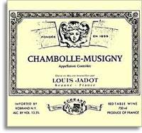 2010 Domaine/Maison Louis Jadot Chambolle-Musigny