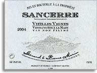 2012 Gerard & Pierre Morin Sancerre Vieilles Vignes