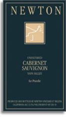 2002 Newton Vineyards Cabernet Sauvignon Le Puzzle Napa Valley