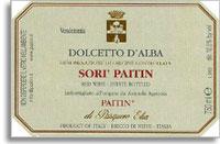 2011 Paitin di Pasquero Elia Dolcetto d'Alba Sori Paitin
