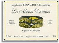 2010 Pascal Cotat Sancerre Les Monts Damnes